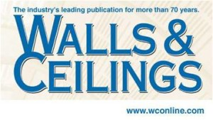 News_ Walls _ Ceilings Magazine May 2011