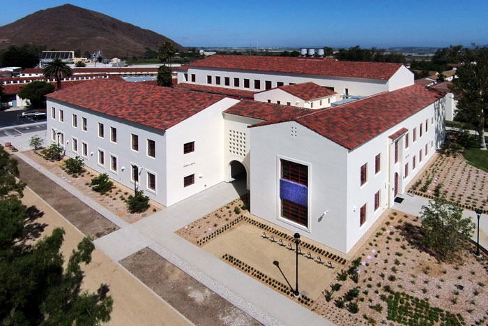 Completed Channel Islands - Sierra Hall